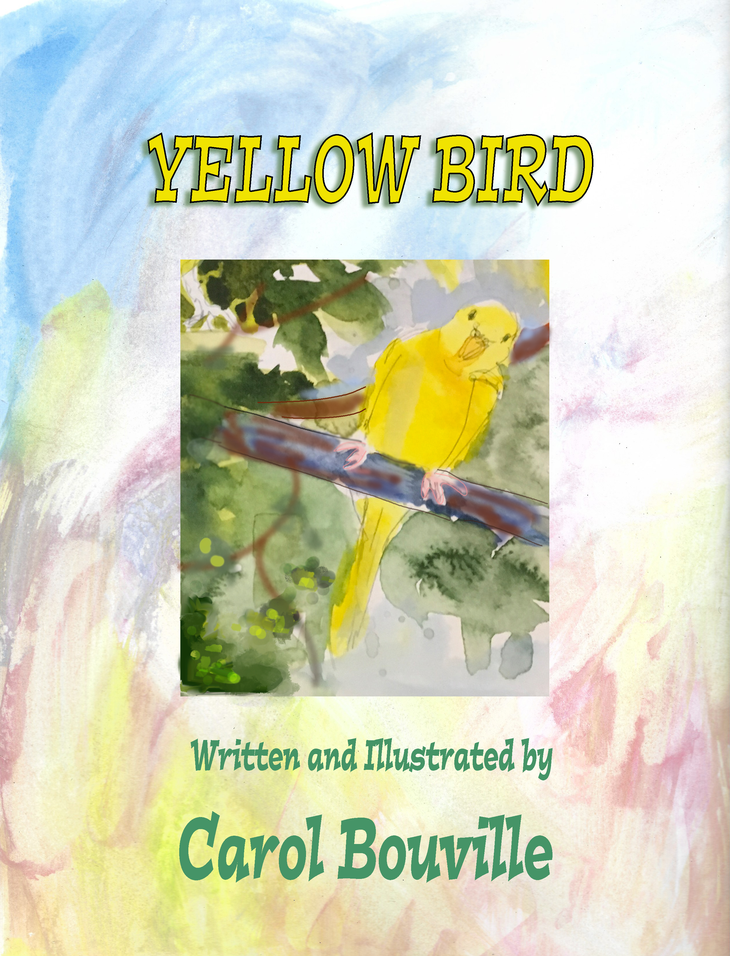 Yellow Bird Inside Cover