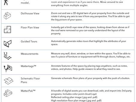 Matterport Features Guide