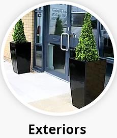 Office Exterior Plant Displays
