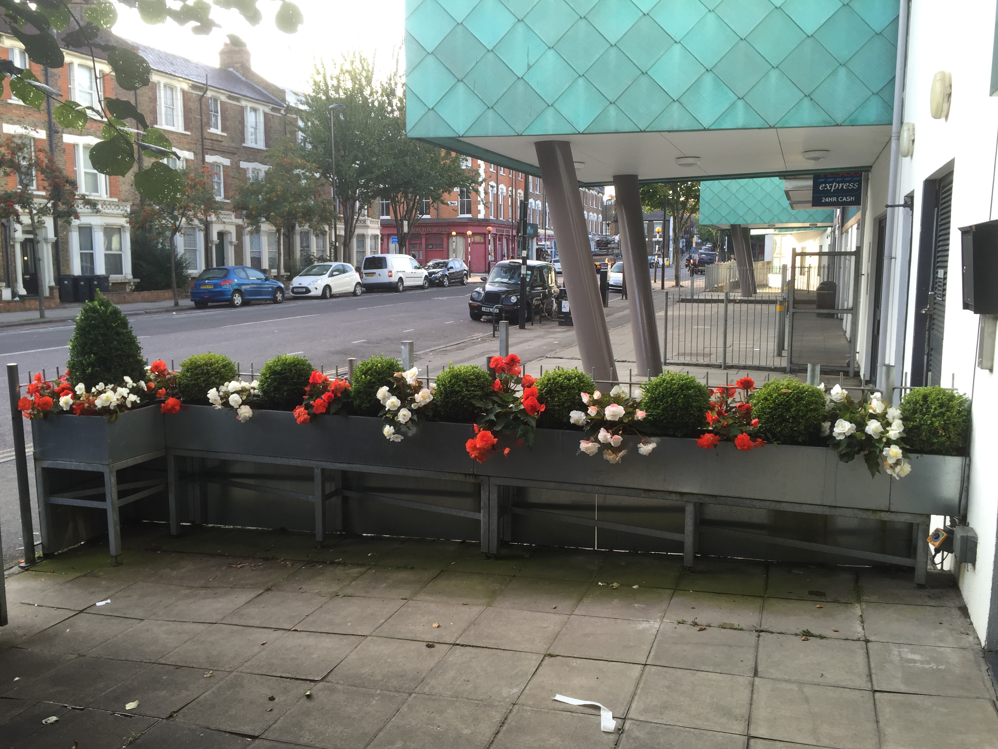 Flower beds for offices