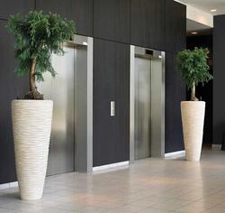 Unique office plant displays