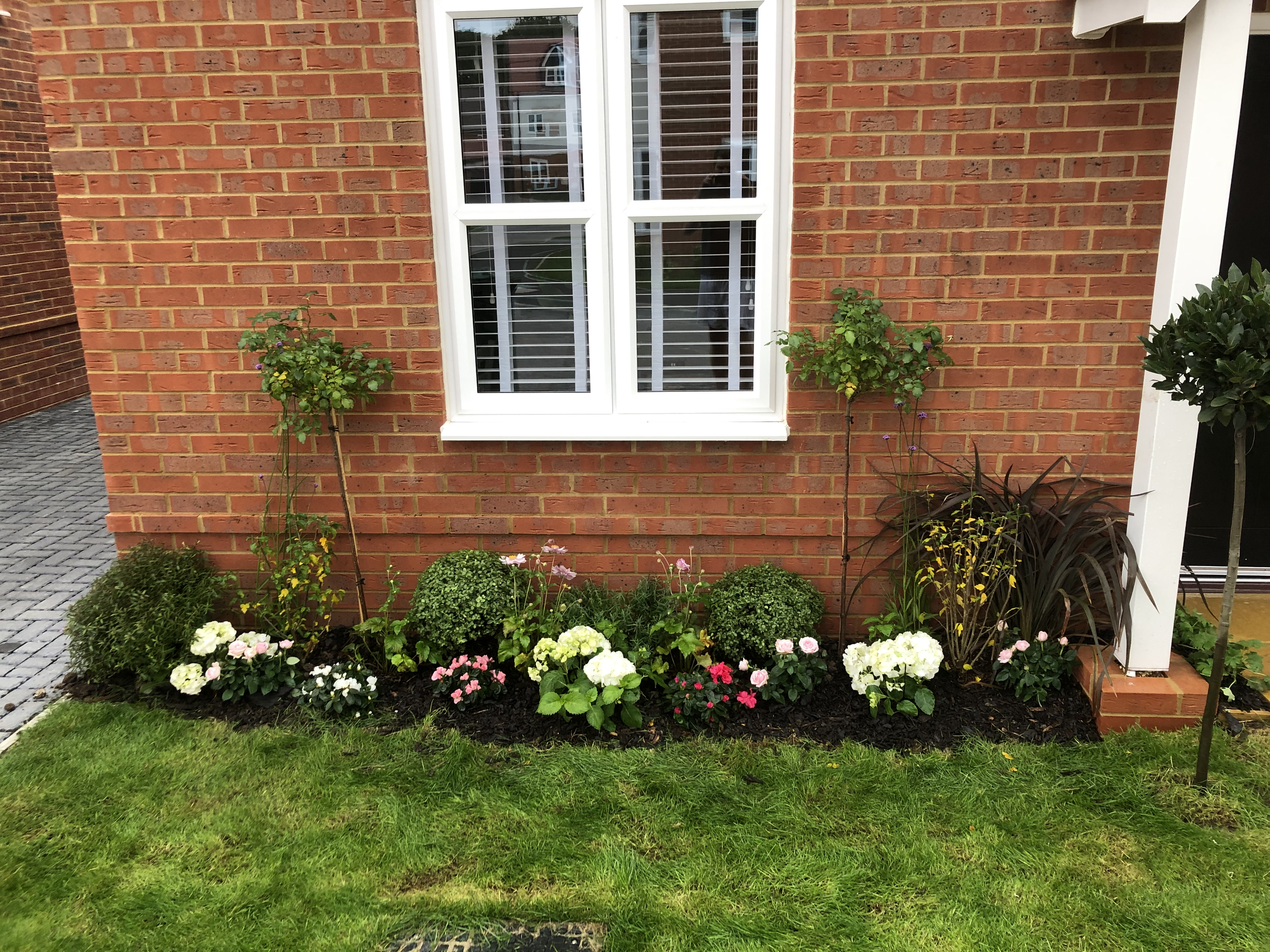 Office exterior Landscaping services