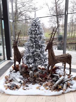 Office Christmas Display