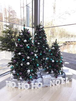 Office christmas tree rental