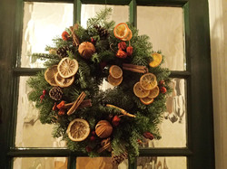 Christmas wreaths for offices
