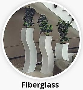 Fibreglass Plant Display