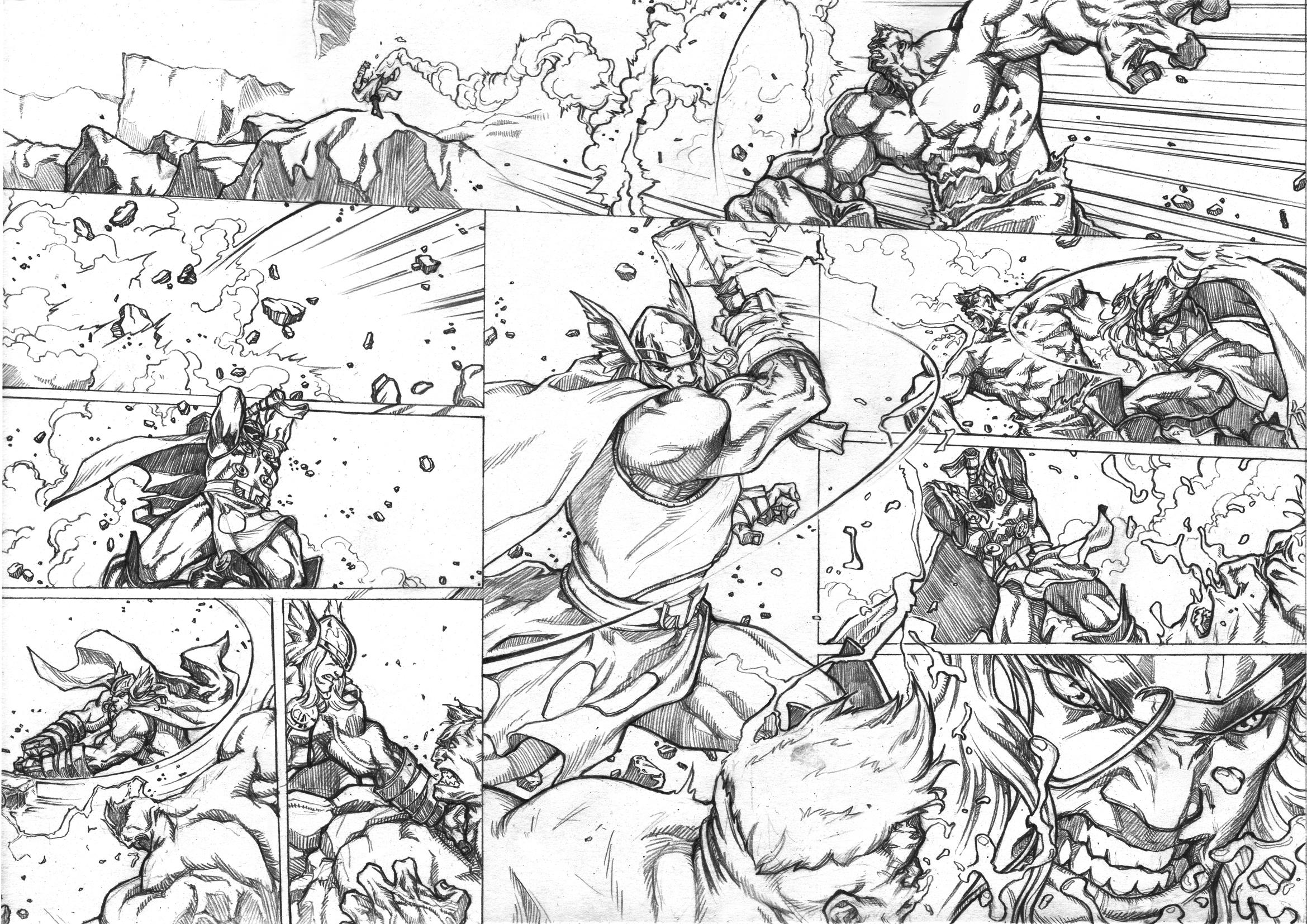 Thor Vs Hulk Page2
