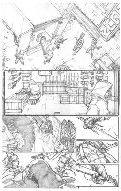 亀忍者 - ページ1
