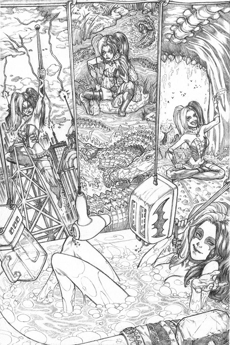 "DC Comics ""Harley Quinn"""
