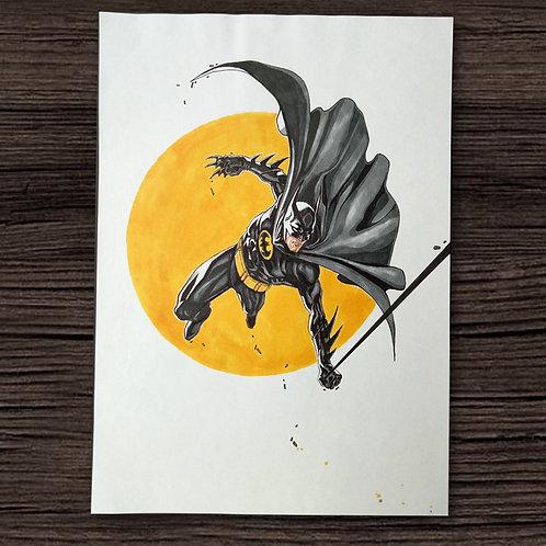 Batman In Flight