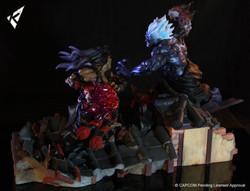 Evil Ryu vs Oni Akuma