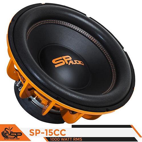 SP Audio SP15CC 2x2 Ohm 1000 Watt RMS