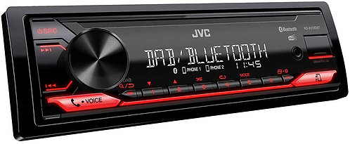 JVC KD-X272DBT Autoradio inkl. DAB Antenne