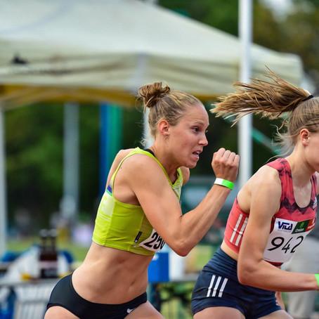 SB op de 800m voor Zenobie in Halle