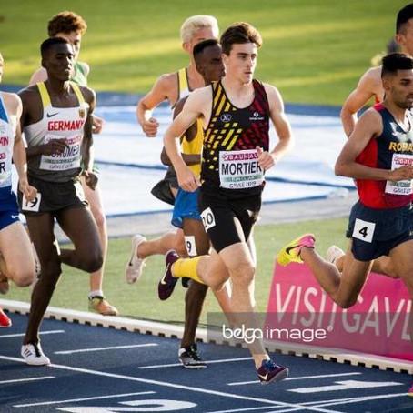 Jennen Mortier wordt 19e op de 5000m op het EK U23 in Gävle.