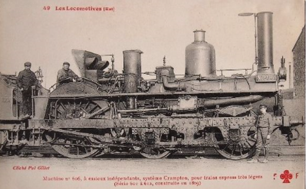locomotive crampton