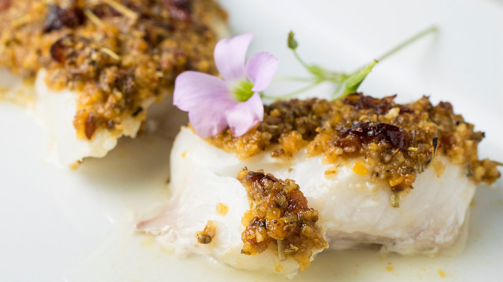 Cran-Orange Rosemary Superfood Topped Haddock Kits- 8 fillets