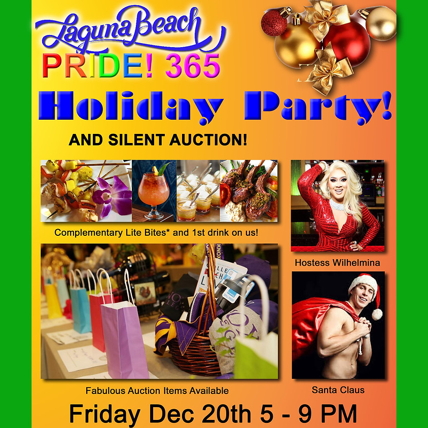 Holiday Celebration and Silent Auction