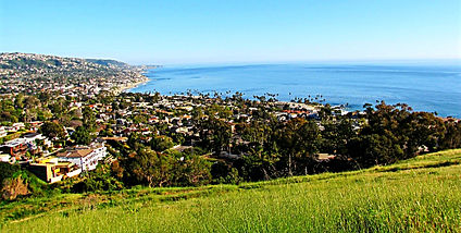 Ocean view from Boat Canyon Road, Laguna