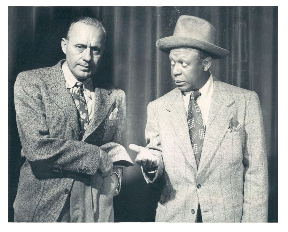 Jack Benny and Eddie Anderson