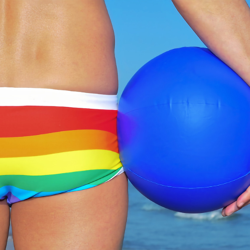 West St. Beach Pride Party
