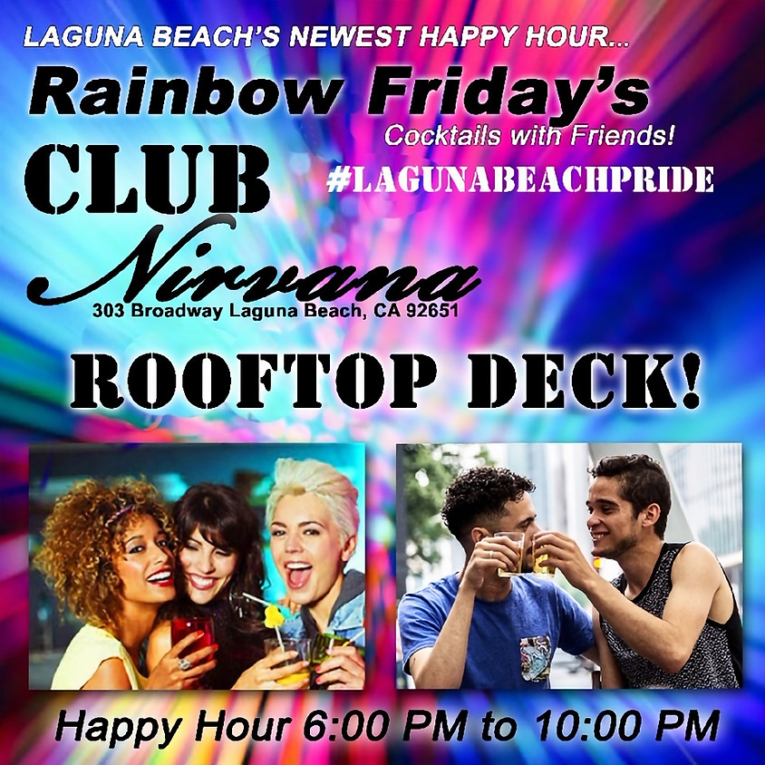Rainbow FRIDAY's - Cocktails with Friends
