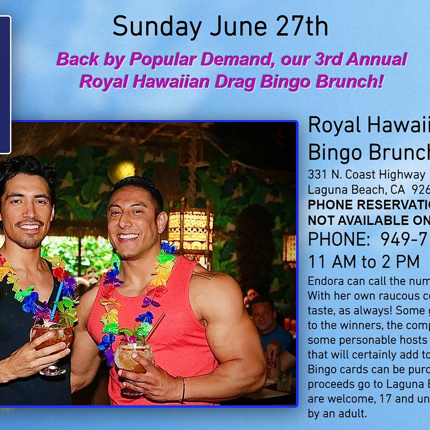Royal Hawaiian Drag Bingo with Endora!