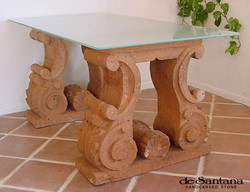 CANTERA HAND CARVED STONE TABLE BASE TB021.jpg