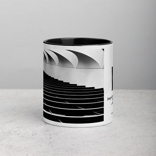 Fonje de Vre Artist Series Mug with Color Inside