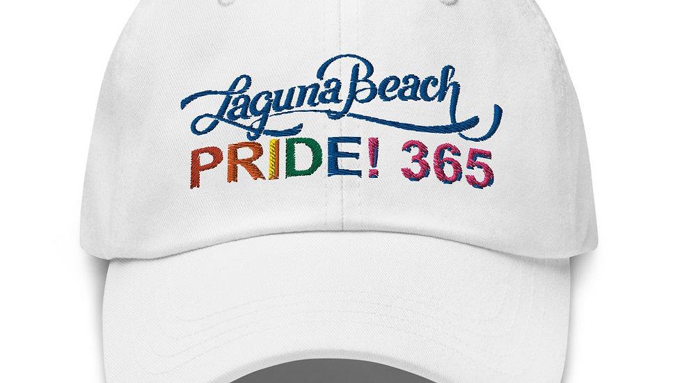 Laguna Beach Pride 365 Logo Embordered Summer Hat