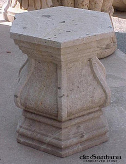 CANTERA HAND CARVED STONE TABLE BASE TB016.jpg