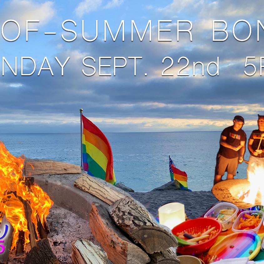 Sunset Bonfire and End of Summer Celebration
