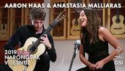 Aaron Haas & Anastasia Malliaras