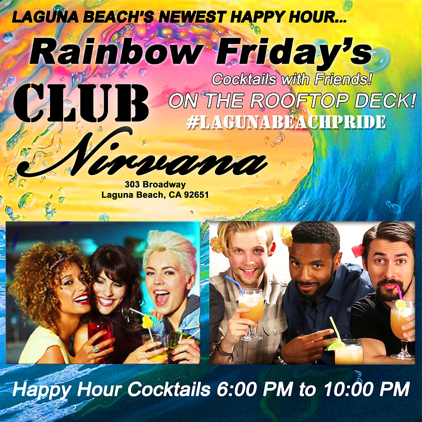 Rainbow Friday's - Rooftop Cocktails with Friends!