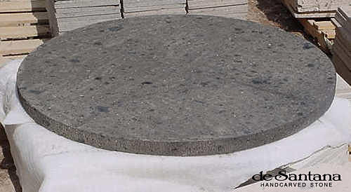 Carved Stone Base : Table bases