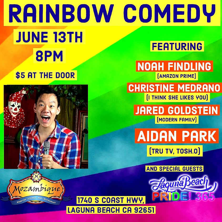 Rainbow Comedy - Giggles with Friends