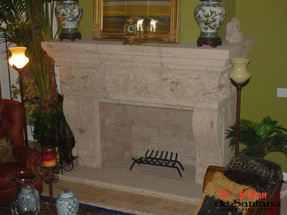 CANTERA HAND CARVED FIREPLACE FP005.JPG