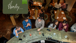 Dinner Harleys Friday following Welcome Reception from 5PM to 7PM.