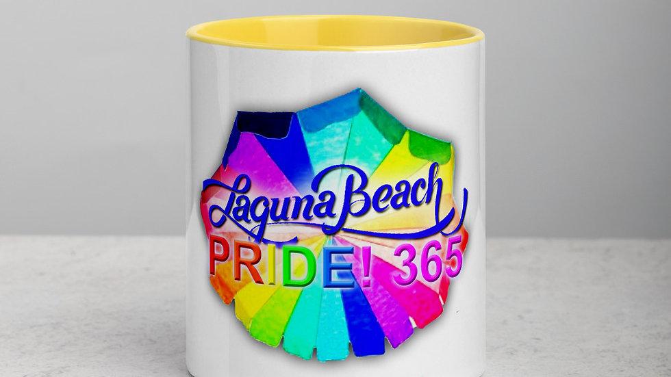 Laguna Beach Pride 365 Logo Mug with Color Inside
