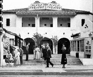 Plaza Theatre 1951