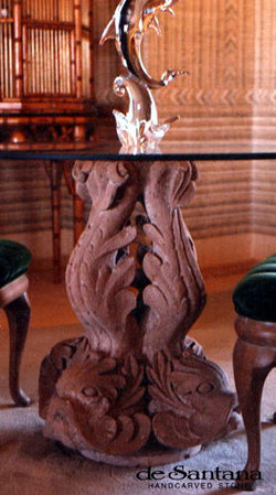 CANTERA HAND CARVED STONE TABLE BASE TB004.jpg