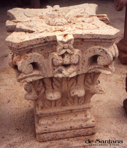CANTERA HAND CARVED STONE TABLE BASE TB011.jpg