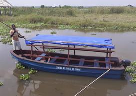 La maternité de GANVIÉ dotée d'une nouvelle barque