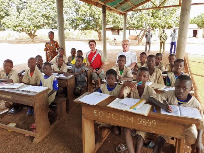 """L'école des """"Enfants de la Loire"""" en terre Béninoise"""