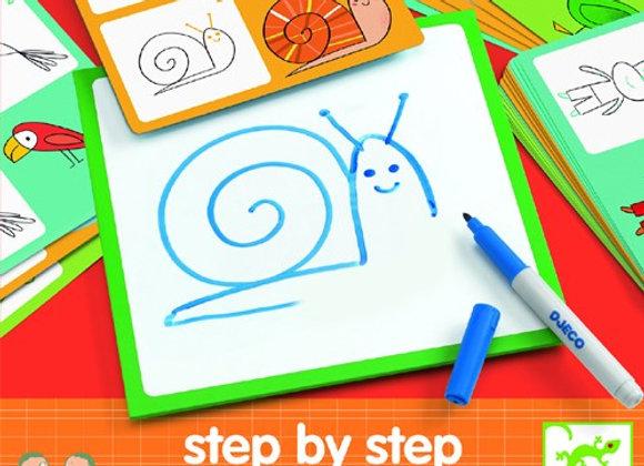 Impara a disegnare animali - Djeco