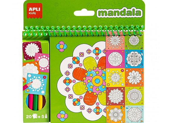 Mandala da colorare - Apli Kids