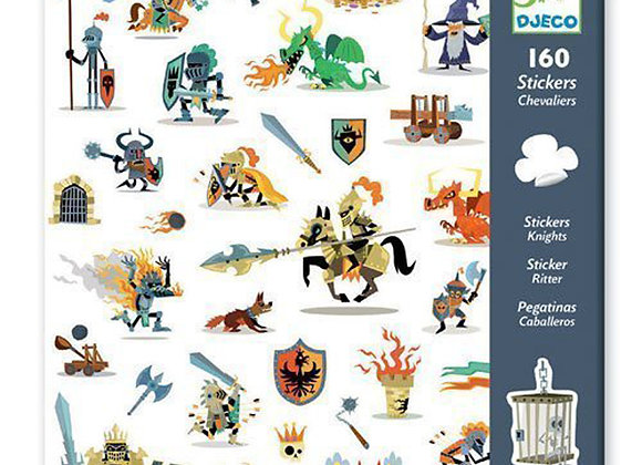 Stickers Cavalieri - Djeco