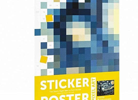 Poppik - Sticker Poster Van Gogh