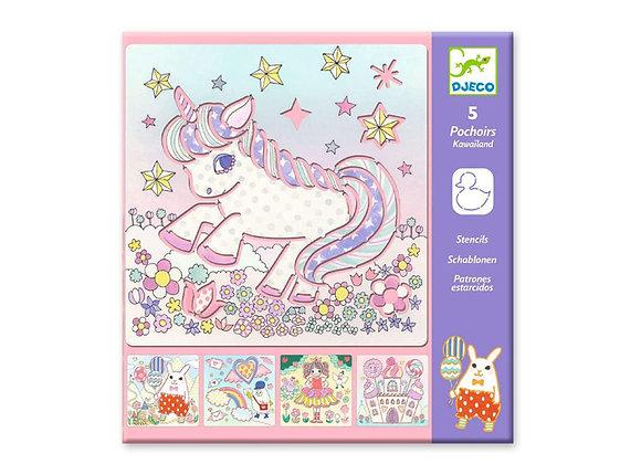 Stencils Unicorni - Djeco