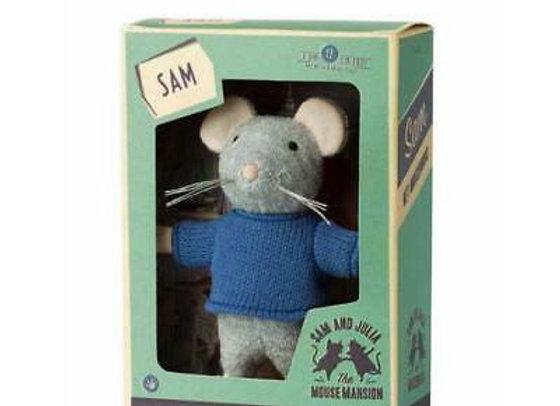 Sam peluche in scatola